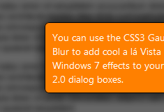 How to Achieve Gaussian Blur Effect with CSS3